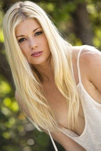 Model Charlotte Stokely in Takes Off Her Jean Shorts And Teal Panties